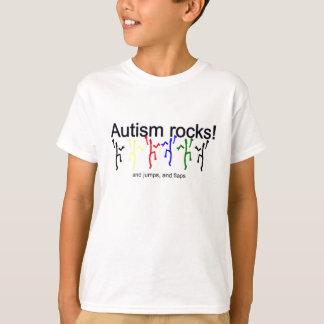 Roches d'autisme ! t-shirt