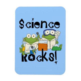 Roches de la Science de grenouilles Magnet Rectangulaire