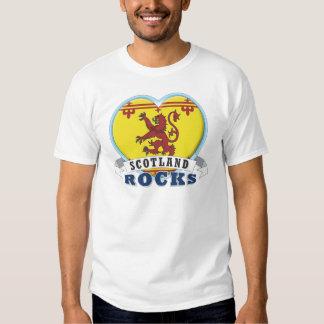 Roches de l'Ecosse 2 T-shirts