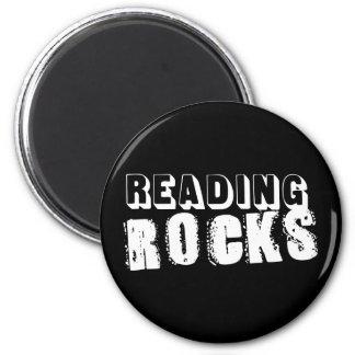 Roches de lecture magnet rond 8 cm