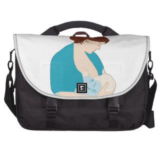 roches de maman d'allaitement au sein sacoches ordinateurs portables