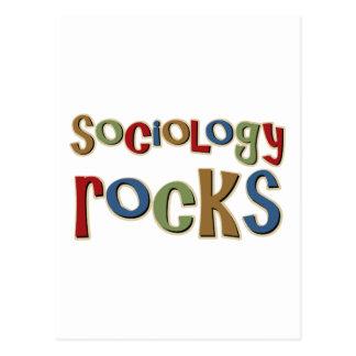 Roches de sociologie carte postale