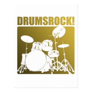 Roches de tambours ! carte postale