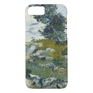 Roches de Vincent van Gogh avec des beaux-arts de Coque iPhone 7