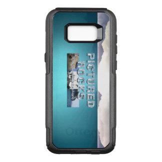 Roches décrites par ABH Coque Samsung Galaxy S8+ Par OtterBox Commuter