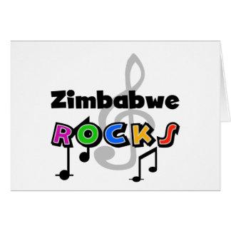 Roches du Zimbabwe Cartes