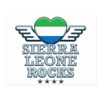 Roches v2 de Sierra Leone Cartes Postales