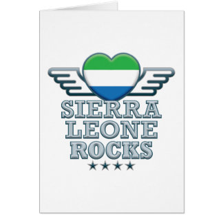 Roches v2 de Sierra Leone Cartes