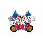 Rock américain cartes postales