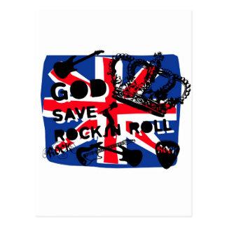 Rock d'économies de Dieu de Dadawan Carte Postale