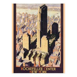 Rockefeller New York central Cartes Postales