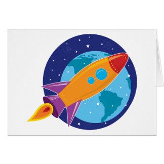 Rocket Carte De Vœux