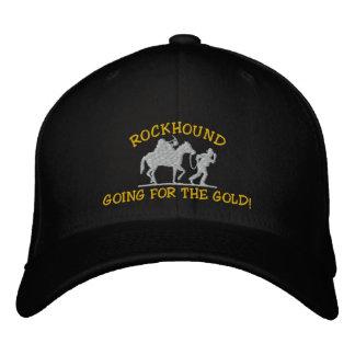 Rockhound allant pour l'or ! Casquette brodé