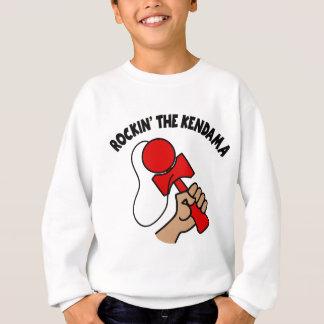 Rockin le Kendama, rouge Sweatshirt