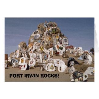 Rockpile, ROCHES d'IRWIN de FORT ! carte de voeux