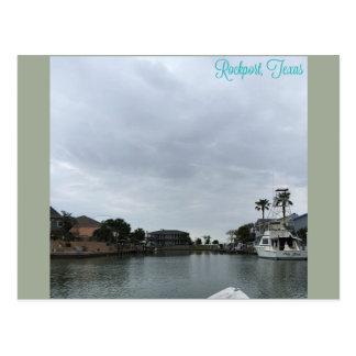 Rockport, carte postale de TX