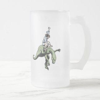 Rodéo Jésus de Raptor Frosted Glass Beer Mug