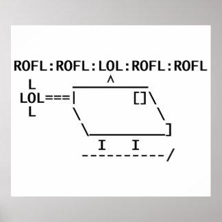 ROFLcopter Affiche