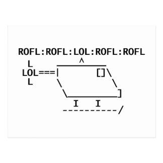 ROFLcopter Cartes Postales