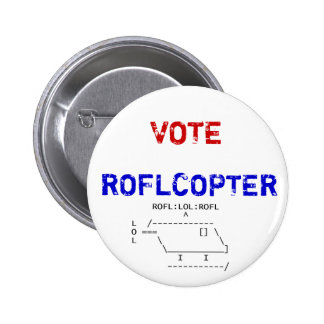 roflcopter, VOTE, ROFLCOPTER Badge