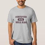 Roi certifié de gril t-shirts