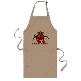 Roi de crabe tablier