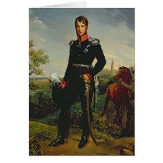 Roi de Frederic William III de la Prusse, 1814 Carte De Vœux