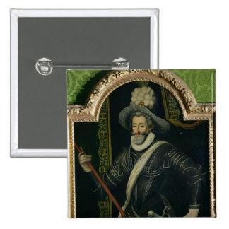Roi de Henri IV de la France et de la Navarre, c.1 Pin's Avec Agrafe