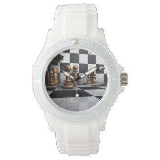 Roi de jeu d'échecs montres bracelet