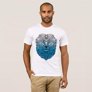 Roi de la jungle, le T-shirt des hommes bleus de