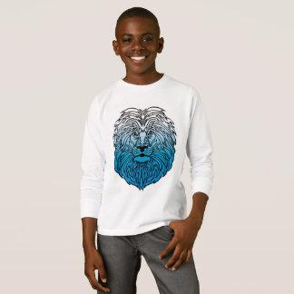 Roi de la jungle, le T-shirt du garçon bleu de