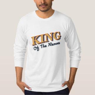 Roi de l'à télécommande t-shirt