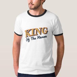 Roi de l'à télécommande t-shirts
