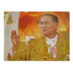 Roi de la Thaïlande Carte Postale