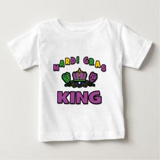 Roi de mardi gras t-shirt pour bébé