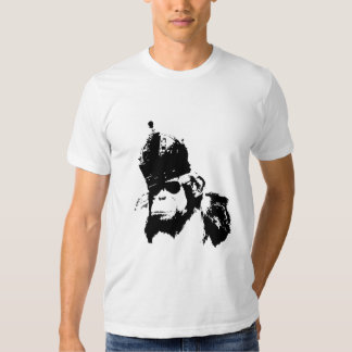 Roi de singe de graffiti t-shirts