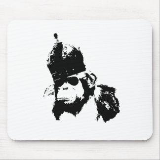 Roi de singe de graffiti tapis de souris