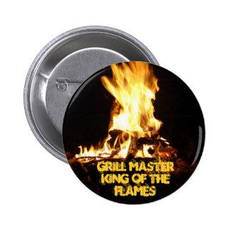Roi des flammes badges