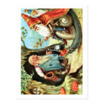 Roi des gnomes cartes postales