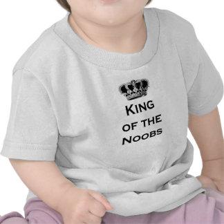 Roi des noobs t-shirt