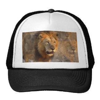 Roi du casquette de baseball de jungle