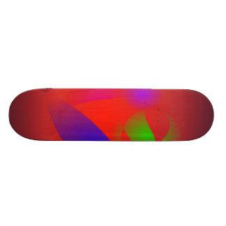 Roi et reine de Brown Skateboard