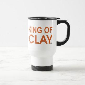 ROI OF CLAY de tennis du CÆ Mug De Voyage