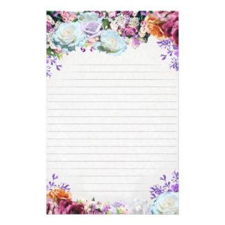 """Rôle de lettre «Flores """" Prospectus 14 Cm X 21,6 Cm"""