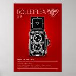 Rolleiflex 2,8F Affiche
