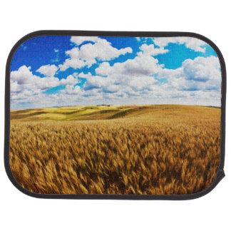 Rolling Hills de blé mûr Tapis De Sol