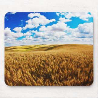 Rolling Hills de blé mûr Tapis De Souris