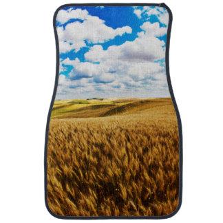 Rolling Hills de blé mûr Tapis De Voiture