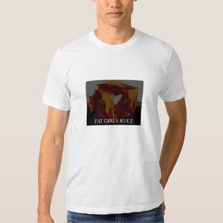 rolly polly - grosse règle de filles t-shirt