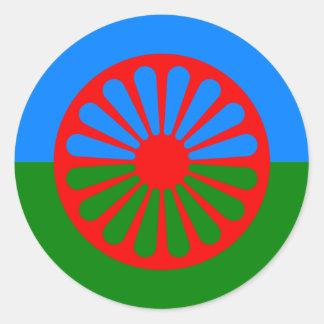 Roma, Inde Sticker Rond